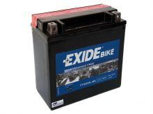 Motobaterie EXIDE BIKE Maintenance Free 18Ah, 12V, 270A, YTX20L-BS (YTX20HL-BS)