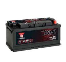 Autobaterie Yuasa YBX3000, 90Ah, 12V, 800A (YBX3017)