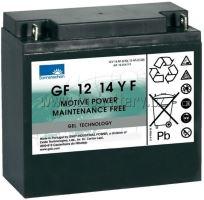 Trakční gelová baterie Sonnenschein GF 12 014 Y F, 12V, 15Ah