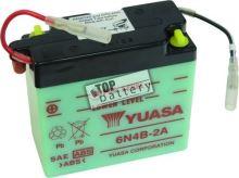 Motobaterie YUASA 6N4B-2A, 6V, 4Ah