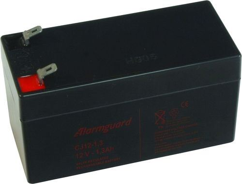 Baterie (akumulátor) ALARMGUARD CJ12-1.3, 12V, 1,3Ah