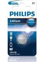 Baterie Philips CR1620, Lithium, 3V, (Blistr 1ks)