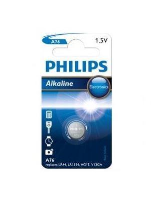 Baterie Philips Alkaline LR44, AG13, 357, 1,5V (Blistr 1ks)