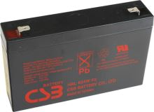 Akumulátor (baterie) CSB HRL634W F2, 6V, 9Ah, Faston 250, široký