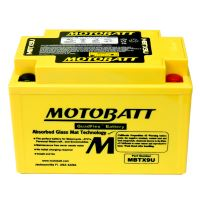 Motobaterie Motobatt MBTX9U, 12V, 10,5Ah, 160A (YTX9-BS, YT12A-BS, YTZ12S, YTZ14S)