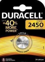 Baterie Duracell CR2450, Lithium 3V, (Blistr 1ks)