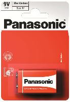 Baterie Panasonic zinco-carbon, 6F22RZ, 9V, (Blistr 1ks) výprodej