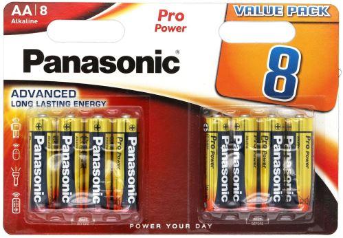 Baterie Panasonic Pro Power, LR6, AA, (Blistr 8ks)