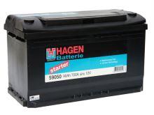 Autobaterie Hagen 90Ah, 12V, 700A
