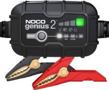 Automatická nabíječka NOCO GENIUS 2 , 6/12V, 2A, (MF/AGM/GEL/STD)