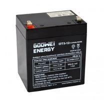 Staniční (záložní) baterie Goowei OT5-12, F1, 5Ah, 12V ( VRLA )
