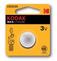 Baterie Kodak Max CR2025, Lithium, 3V, (Blistr 1ks)