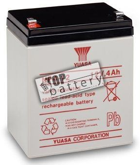 Záložní akumulátor (baterie) Yuasa NP 4-12 (4Ah, 12V)