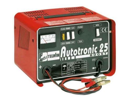 Nabíječka autobaterií Telwin Autotronic 25 boost, 12V/24V