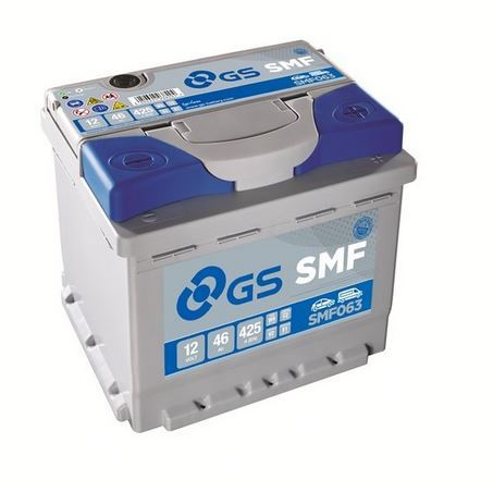 Autobaterie GS/Yuasa SMF 46Ah, 12V, 425A