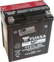 Motobaterie YUASA YTX7L-BS, 12V, 6Ah
