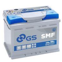 Autobaterie GS SMF/Yuasa 62Ah, 12V, 540A, SMF027