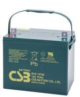 Akumulátor (baterie) CSB EVX12750, 12V, 75Ah, šroubová spojka M6