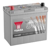 Autobaterie Yuasa Silver High Performance 48Ah, 12V, 430A (YBX5057) - Levá