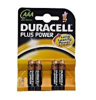 Baterie Duracell Plus Power MN2400, AAA, (Blistr 4ks)