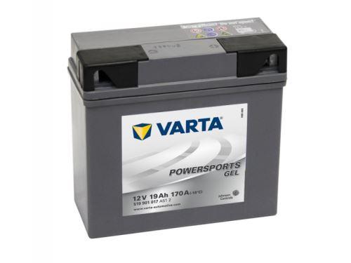 Motobaterie VARTA 519 901 017, 19Ah, 12V (gelová)