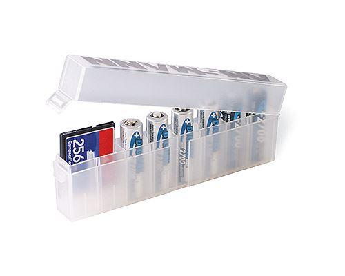 Ansmann plastové pouzdro na (8ks) baterie a paměťové karty
