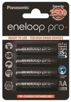 Baterie Panasonic Eneloop Pro BK-3HCDE/4BE, AA, 2500mAh, (blistr 4ks)