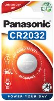 Baterie Panasonic CR2032, Lithium, 3V, (Blistr 1ks)