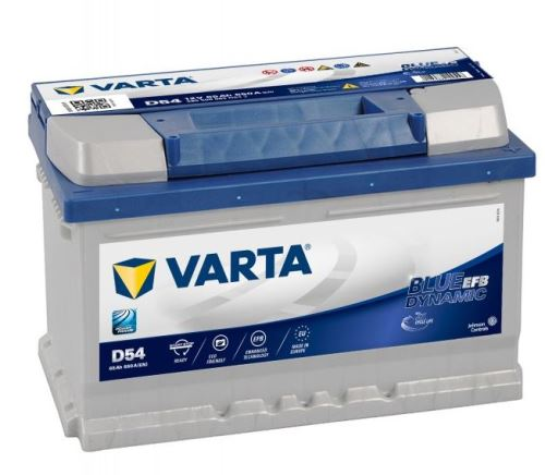 Autobaterie VARTA Blue Dynamic EFB (START-STOP) 65Ah, 12V (D54)