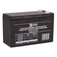 Olověný bezúdržbový akumulátor SLA Emos B9654 12V / 7,2Ah, F1, úzký, 1201000800