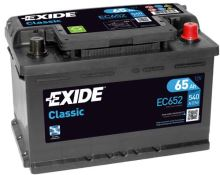 Autobaterie EXIDE Classic 12V, 65Ah, 540A, EC652