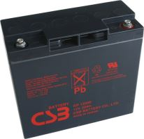 Akumulátor (baterie) CSB GP12200, 12V, 20Ah, závit M5