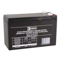 Olověný bezúdržbový akumulátor SLA 12V, 7,2Ah, F2, široký