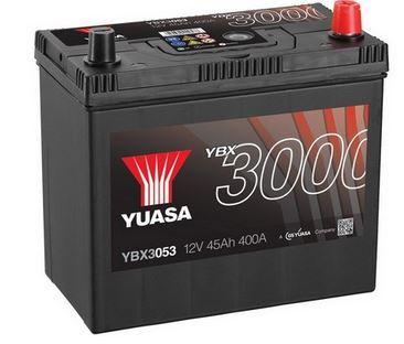 Autobaterie Yuasa YBX3000, 45Ah, 12V, 400A (YBX3053)