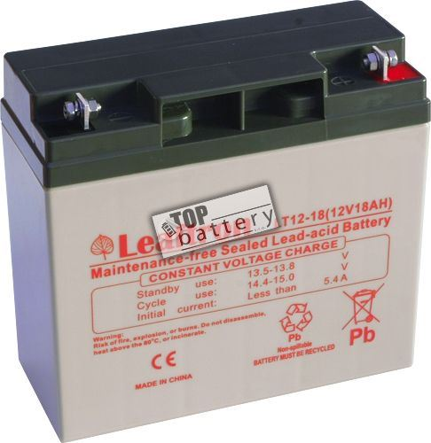 Akumulátor (baterie) Leaftron LT12-18, 12V - 18Ah