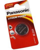 Baterie Panasonic CR2430, Lithium, 3V, (Blistr 1ks)