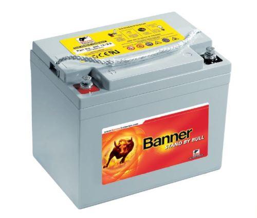 Záložní baterie SBG 12-80, 12V, 80Ah - gelová (životnost 12 let)