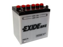 Motobaterie EXIDE BIKE Conventional 24Ah, 12V, 200A, 12N24-3A