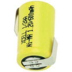 Xcell 1/2 AA, 1,2V, Ni-Mh 600mAh s pájecími kontakty