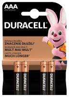 Baterie Duracell Basic AAA 4ks 10PP100005, (Blistr 4ks)