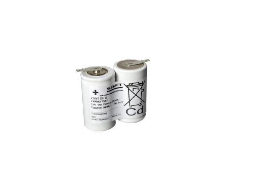 Baterie pro Nouzové osvětlení SAFT 2,4V 4000mAh vysokoteplotní (2SBSVTD)