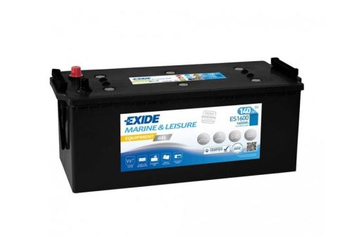 Trakční baterie EXIDE EQUIPMENT GEL, 12V, 140Ah, ES1600