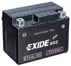 Motobaterie EXIDE BIKE Maintenance Free 12Ah, 12V, 200A, YTX14AH-BS