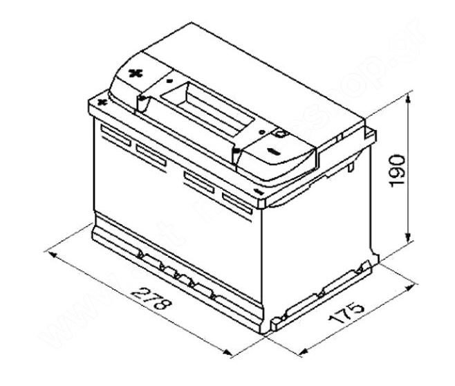 autobaterie varta blue dynamic 74ah 12v e12 lev. Black Bedroom Furniture Sets. Home Design Ideas