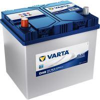 Autobaterie VARTA BLUE Dynamic 60Ah (D48) -Levá