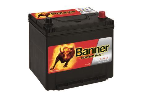 Autobaterie Banner Power Bull P60 62, 60Ah, 12V, 510A (P6062)