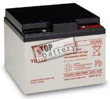 Záložní akumulátor (baterie) Yuasa NP 24-12 I (24Ah, 12V)
