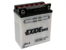 Motobaterie EXIDE BIKE Conventional 7Ah, 12V, 100A, YB7L-B
