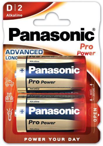 Baterie Panasonic Pro Power, LR20, D, (Blistr 2ks)