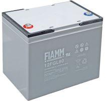 Olověný akumulátor Fiamm 12 FGL80, 80Ah, 12V